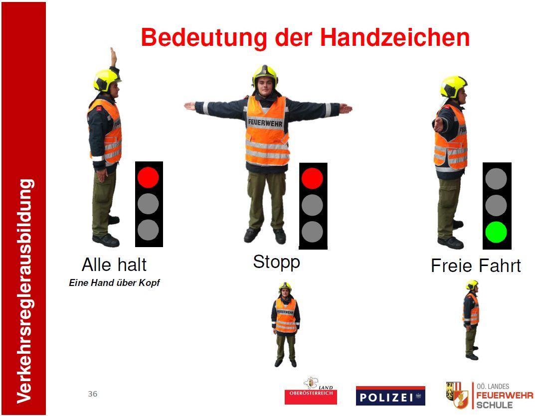 Verkehrsregler – Ausbildung in Ried
