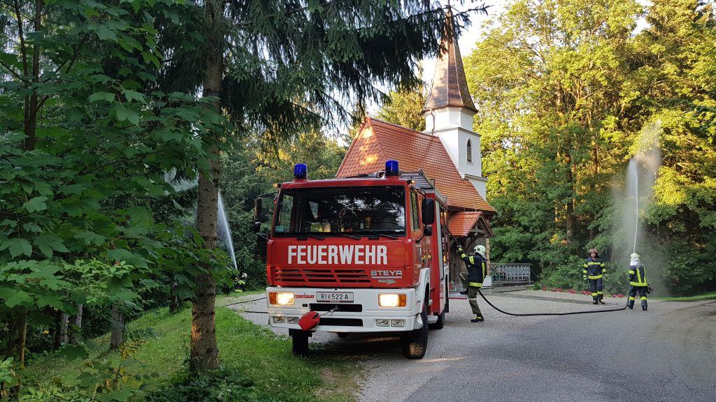 Falls die Kapelle am Herndlberg brennen würde…