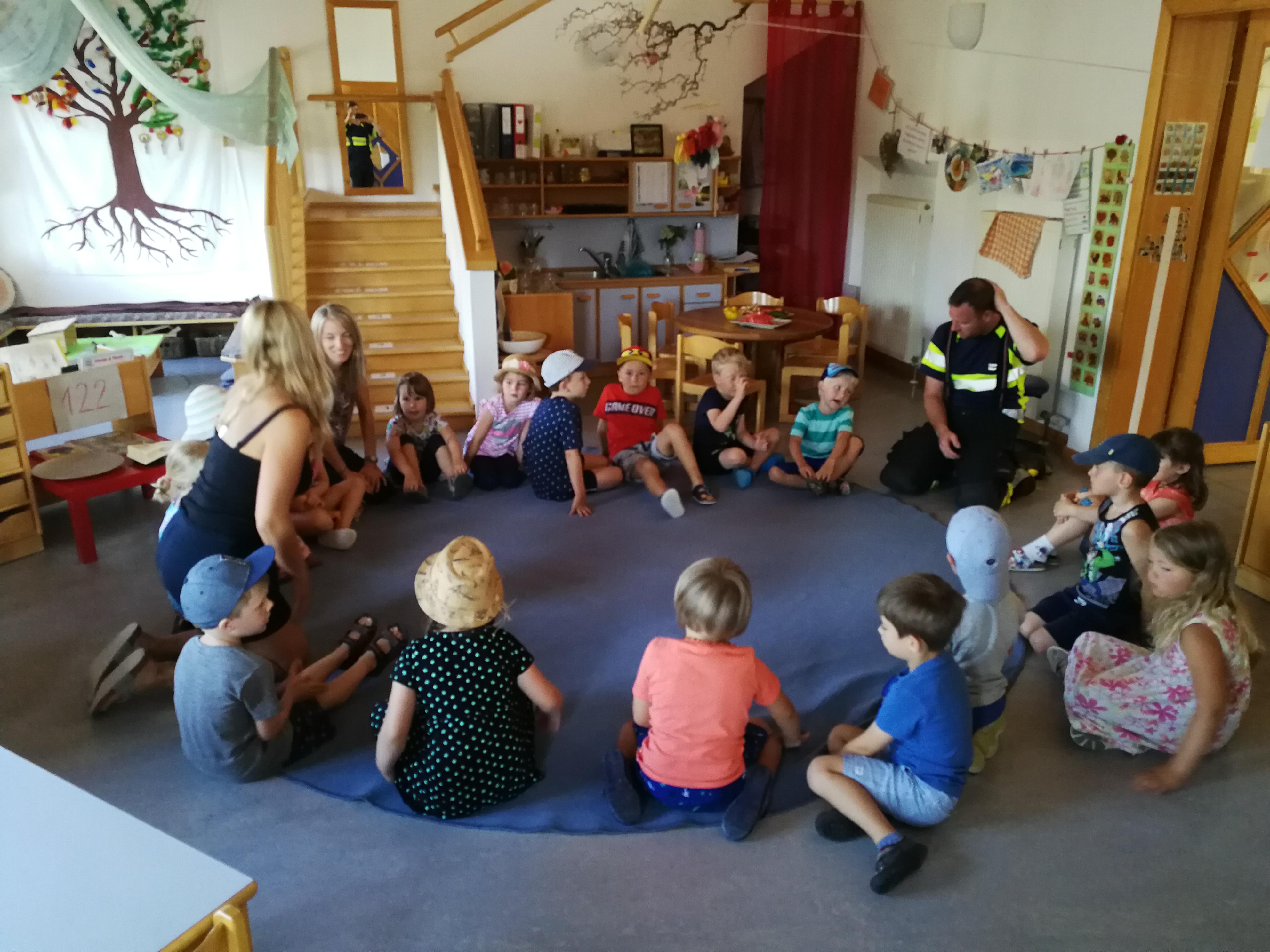 Kindergarten Räumungsübung