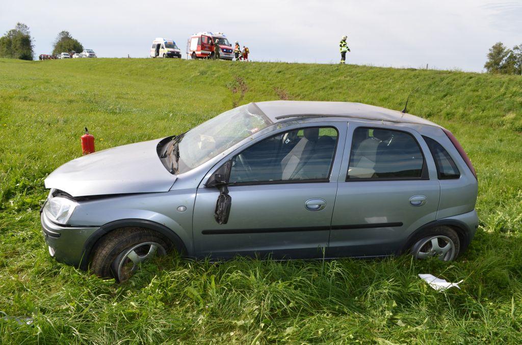 Fahrzeugbrand in Schauberg