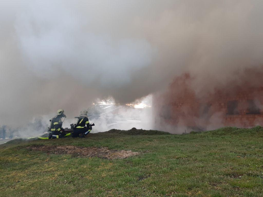 Wohnhausbrand in Waldzell