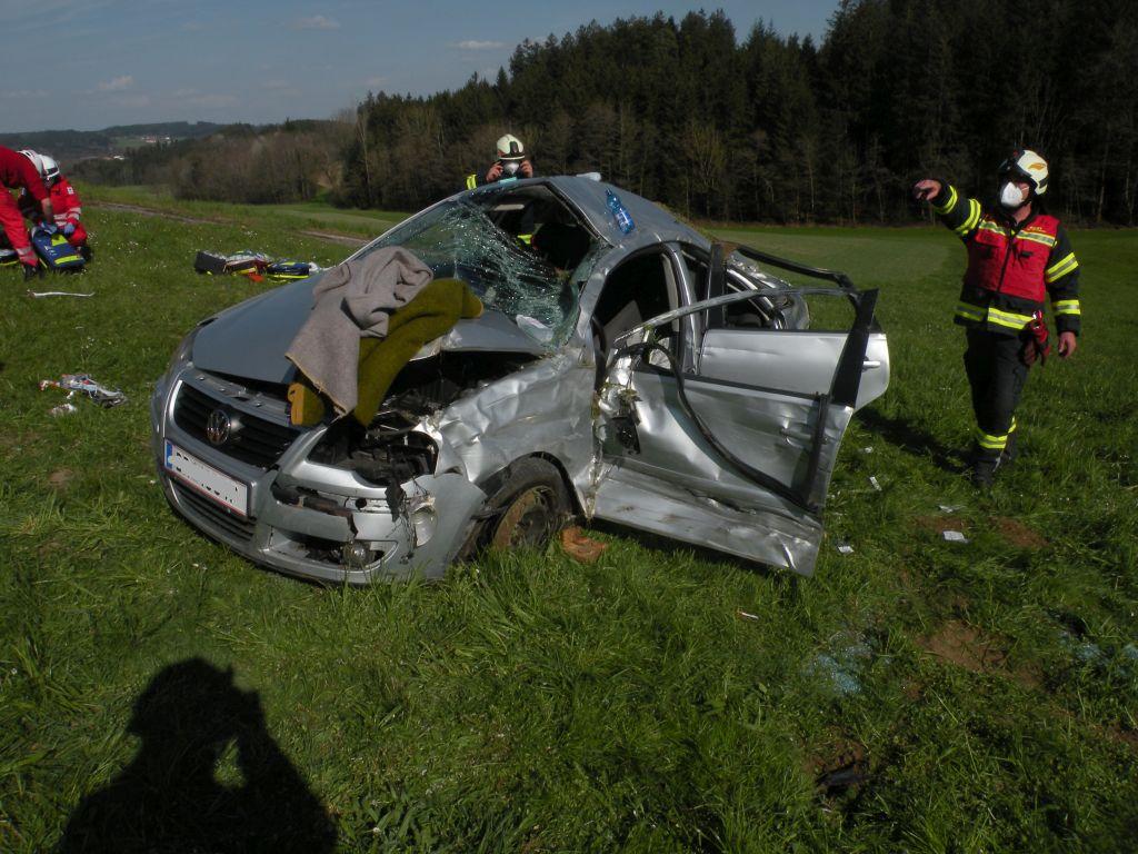 Verkehrsunfall in Mettmach