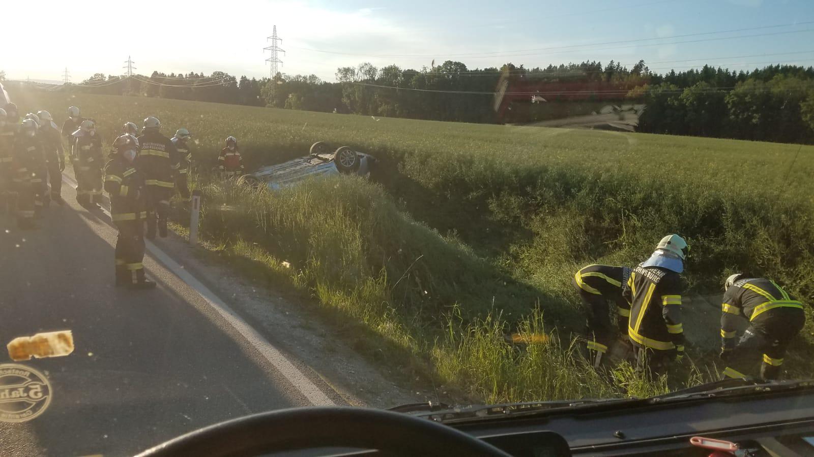 Verkehrsunfall in Riegerting