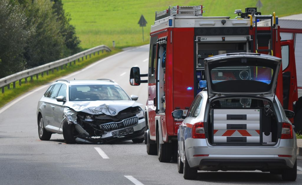 Verkehrsunfall in Gunzing
